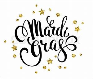 mardi gras glittering lettering design for banners With mardi gras lettering