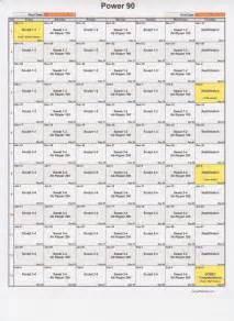 Power 90 90 Day Calendar - Calendar Template 2016 Power 90