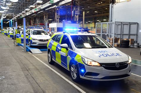 vauxhall opens dedicated police car factory  uk