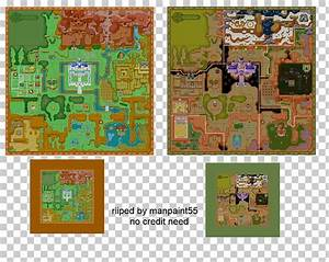 Adventure, Of, Link, Map