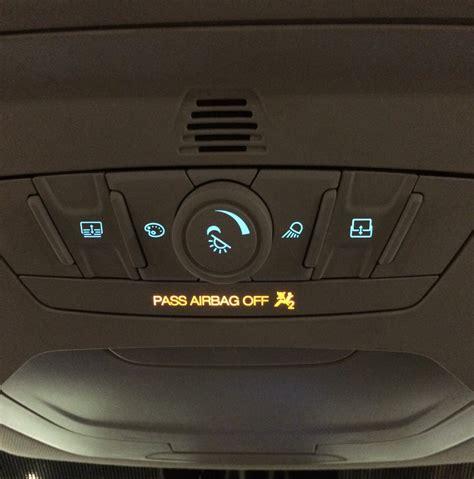 passenger airbag light enabling the passenger airbag light ford kuga owners