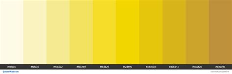 Palette Yellow by Trello Yellow Colors Palette Hex Rgb Codes