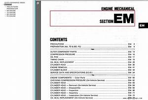 Nissan Cabstar F23 Service Manual Pdf Download