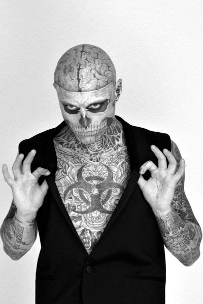 57 best images about Rick Genest (Zombie Boy) on Pinterest | Models, Tom ford and Rick genest