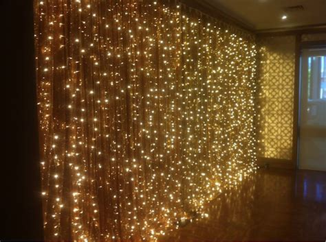 Giant Curtain Hanging Fairy Lights, Colours, Sizes