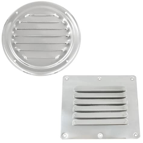 Small Boat Vents by West Marine Stainless Steel Louvered Vents West Marine