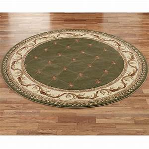 Aurelius round area rugs for Round area rug