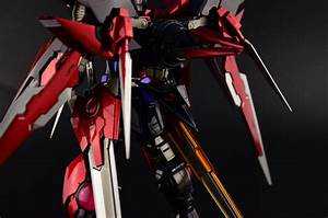 GUNDAM GUY: MG 1/100 Gundam Dark Matter Exia - Painted Build