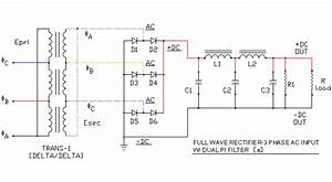 Full Wave Rectifier - 3 Phase Input