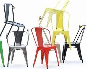 Chaise Style Industriel : la chaise tolix pour un style industriel et vintage ~ Teatrodelosmanantiales.com Idées de Décoration