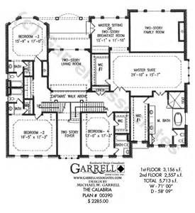 split level ranch house plans calabria house plan dual master house plans