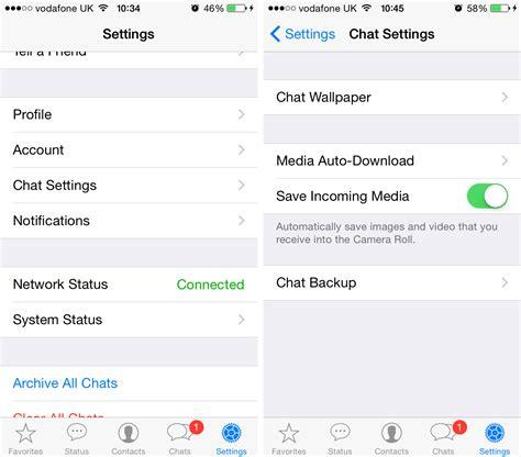 save to iphone stop whatsapp saving photos on iphone tech advisor