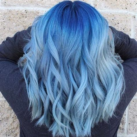 21 Blue Hair Ideas That Youll Love Beauty Dyed Curly