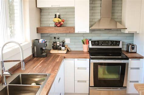 comptoir de cuisine en bois cuisine espace bois