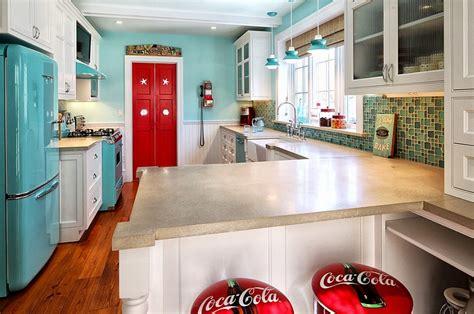 retro kitchen decor ideas coca cola decor vintage posters coke machines and diy ideas