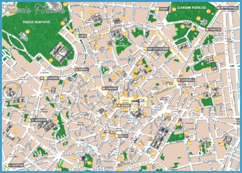 milan map tourist attractions travelsfinderscom