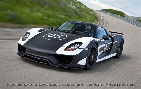porsche electric 918 video porsche 918 spyder first ride way2speed