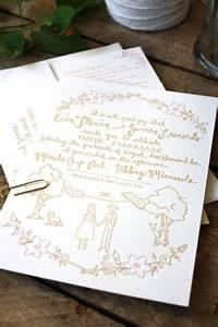 wedding invitations from printerette press With printing press for wedding invitations near me