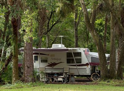 Manatee Hammock Cground Titusville Florida by Trailer Travels 67 Manatee Hammock Cground