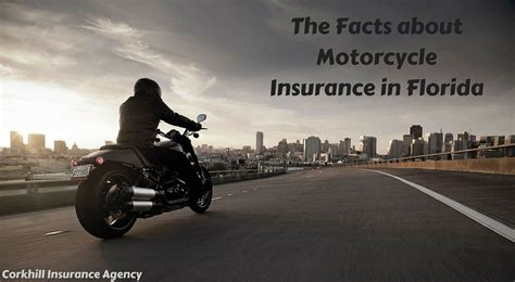 The Facts About Motorcycle Insurance In Florida
