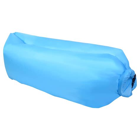 It's waterproof, making it great for outdoor use as well. Costway Outdoor Lazy Inflatable Couch Air Sleeping Sofa Lounger Bag Camping Bed Portable ...