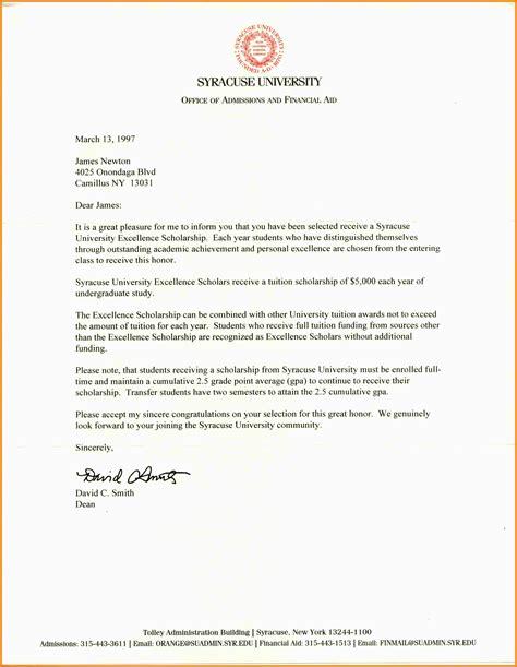sample co ver letters  scholarships cover letter
