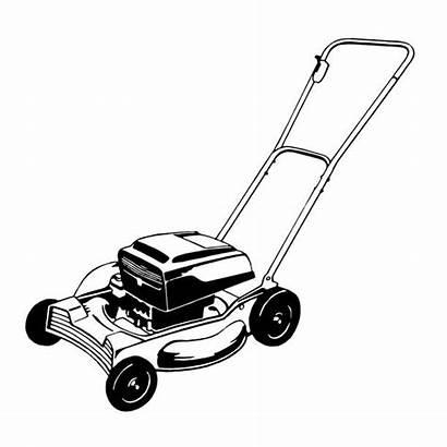 Lawn Mower Illustrations Vector Clip Lawnmower Tondeuse