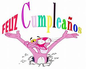 Feliz cumpleaños pantera rosa Imagui