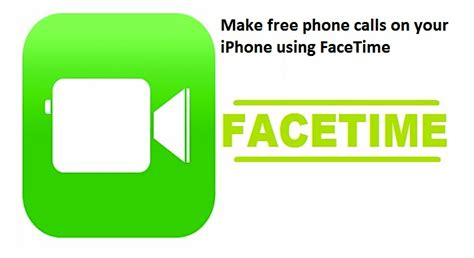free phone call app iphone how to make free phone calls on your iphone using facetime app