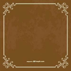 Grunge retro frame Vector | Free Download