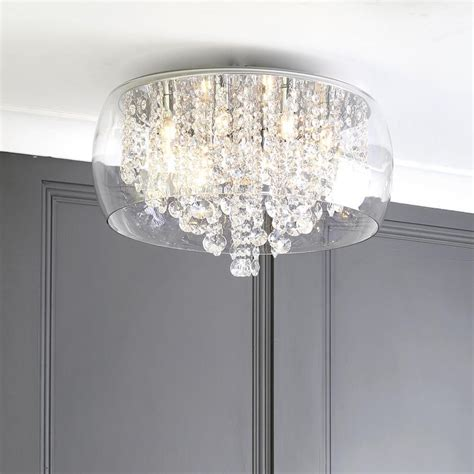 shower ceiling light marquis by waterford nore led large encased flush