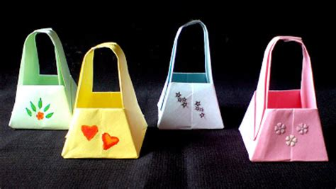 origami paper bags embroidery origami