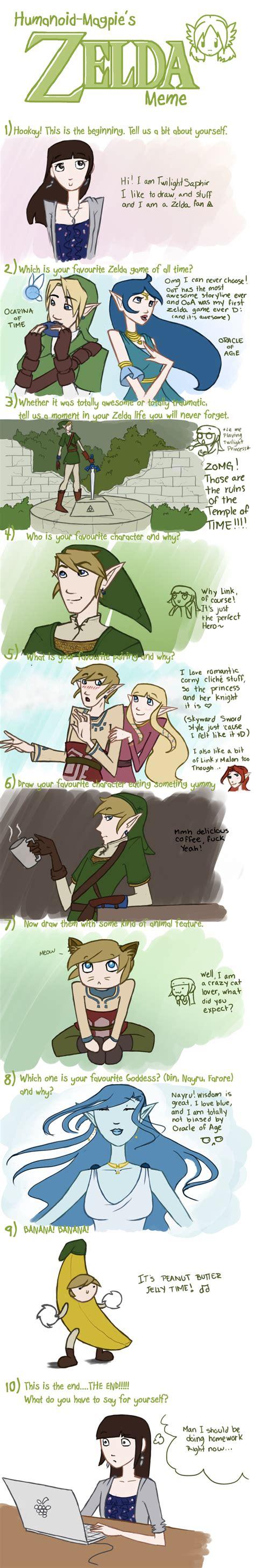 Legend Of Zelda Memes - legend of zelda meme by twilightsaphir on deviantart