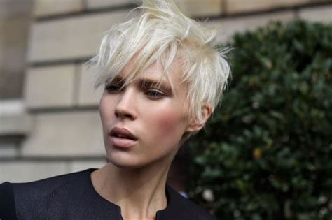 short blonde pixie cropped hairstyles hair colors ideas