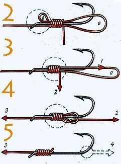 tie  fishing hook fishing knots