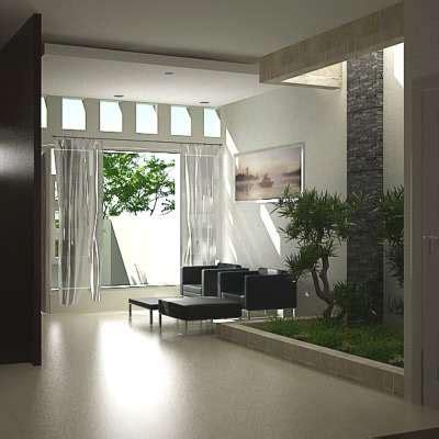 desain taman mungil  rumah minimalis inspirasi