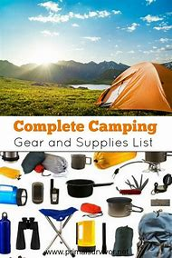 Basic Camping Supplies List