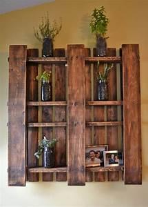 Meuble Deco Design : meubles palettes en bois diy en 99 id es cr atives pour plus d 39 originalit ~ Teatrodelosmanantiales.com Idées de Décoration