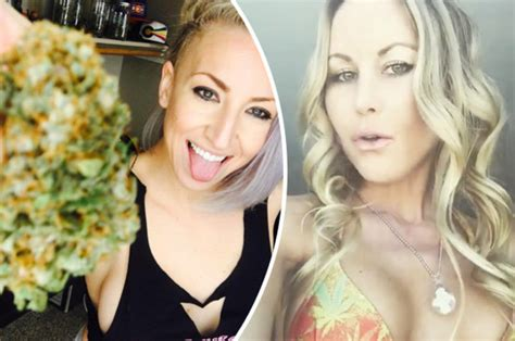 Ganja Girls Of Instagram Pose With Cannabis In Nude