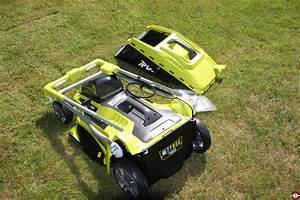 Test De La Tondeuse Sur Batterie RLM36X46L50HI RYOBI