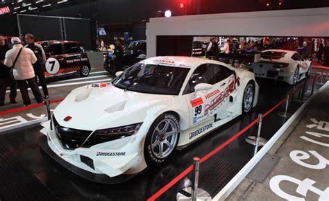 japanese race cars honda nsx gt race car makes tokyo auto salon debut 2016