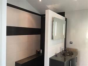 salle de bain moderne avec douche a l39italienne noire et With salle de bain moderne avec douche
