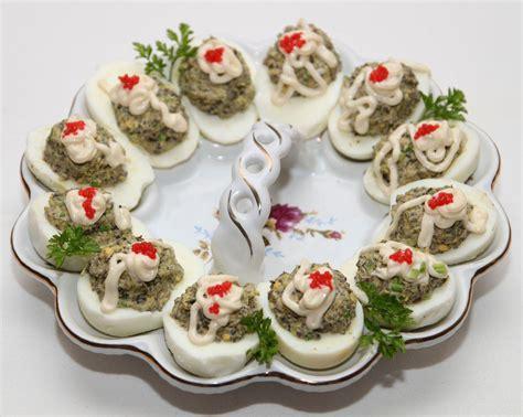 jajka faszerowane pieczarkami smacznego wielkanoc przepisy smaczneprzepisy