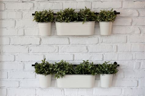 Vertical Herb Garden In Your Kitchen by Vertical Gardening