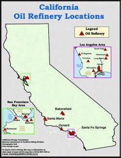 oil refineries location  oil refineries