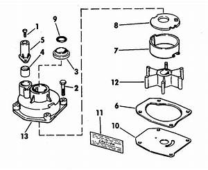 Chrome Pump Kits 70 Hp Miscellaneous 1974 Accessories For