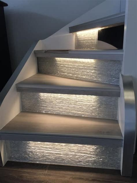 eclairage cage escalier stunning lovely spot led balisage escalier rsultat clairage led cage