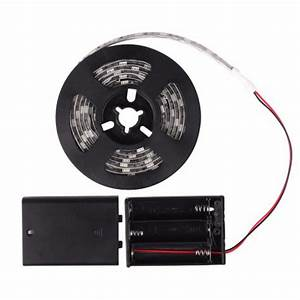 Led Streifen Batterie : 0 5 1 2 meter warmwei kaltwei rgb smd5050 led flexible streifen lichtband mit batterie schalter ~ Eleganceandgraceweddings.com Haus und Dekorationen