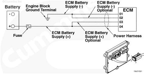 wiring diagram  cm pn     ism engine hp