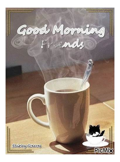 Morning Friend Quotes Coffee Picmix Gifs Friends